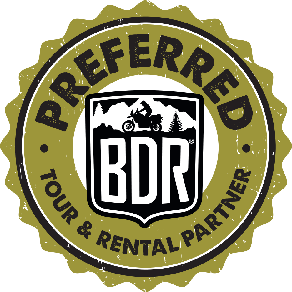 Rent a motorcycle from a preferred tour and rental operator MotoDiscovery